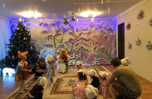 Новый годвдоме ребенка организовали сотрудники полиции изВАО