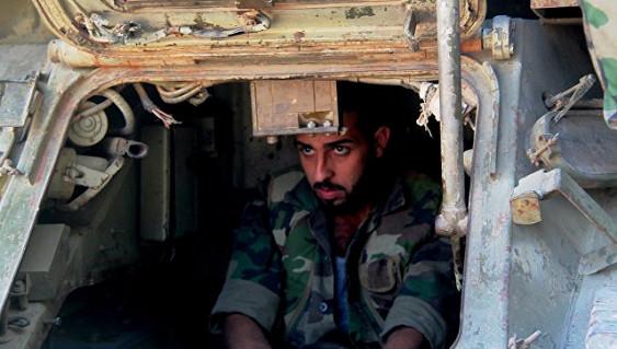 Ситуация впровинциях Дамаск иАлеппо