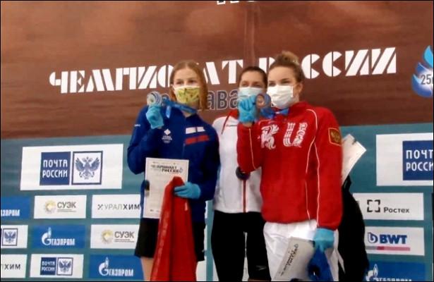 Волгоградка ЯнаКурцева завоевала бронзу чемпионата России поплаванию