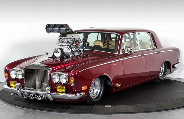 Дрэговый Rolls-Royce скаркасом икреплением дляшампанского выставили напродажу