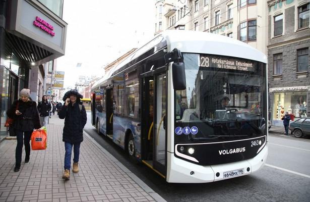 ВПетербурге налинию вышли первые электробусы