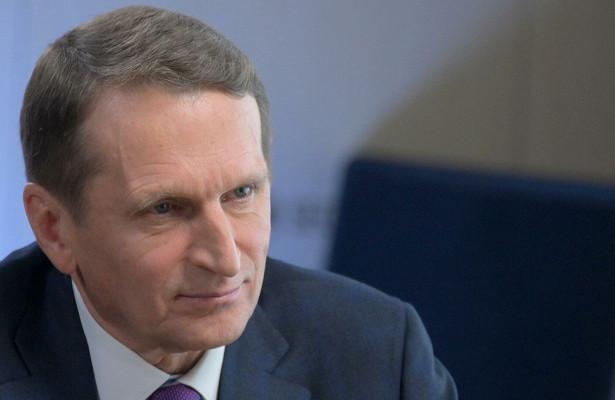 Нарышкин описал «заклятых партнеров» российской разведки