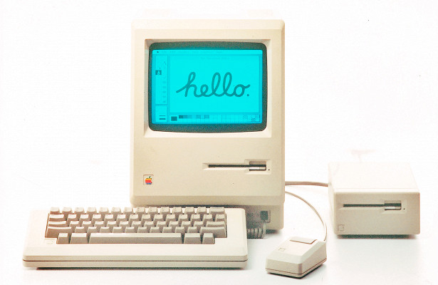 Система первого Mac'а: Finder ифайловая система