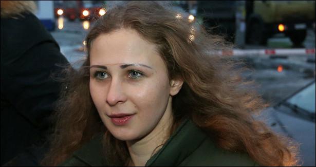 ВМоскве задержана участница Pussy Riot