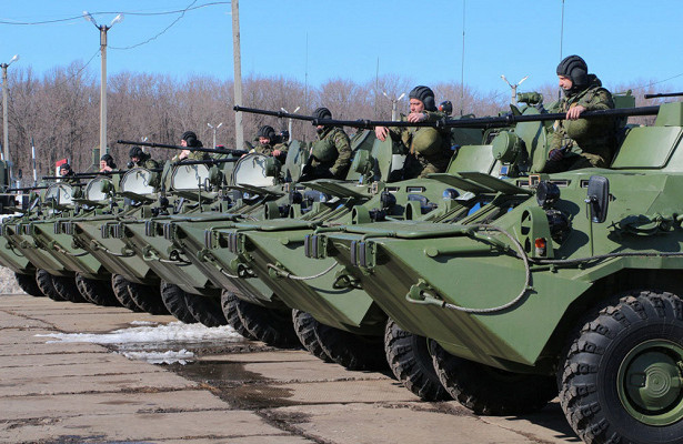 Новые БТР-82Апоступили навооружение учебного центра наУрале