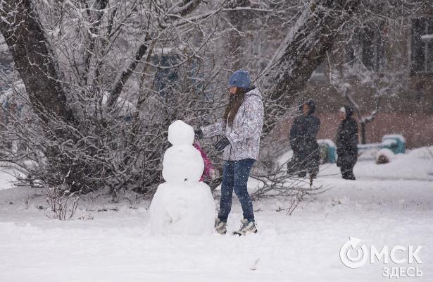 Лёгкий мороз ожидается вОмске надлинных выходных