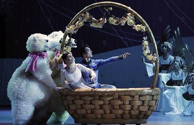 Пермский балет показал вКремле «Щелкунчика» спримой Натальей Осиповой