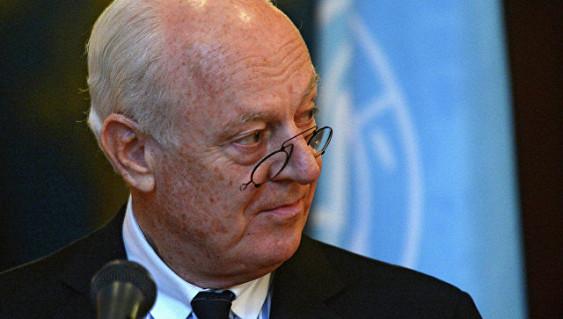 Де Мистура заявил об угрозе партизанской войны в Сирии
