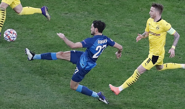Оздоев несчитает, что«Зенит» провалил Лигу чемпионов