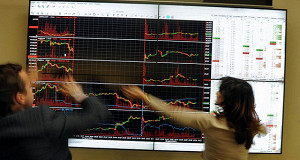 Индекс ММВБ упал к 1800 пунктам