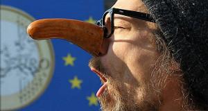 Евро приказали долго дешеветь