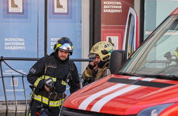 ЧПвцентре Москвы: пациентов эвакуируют изклиники