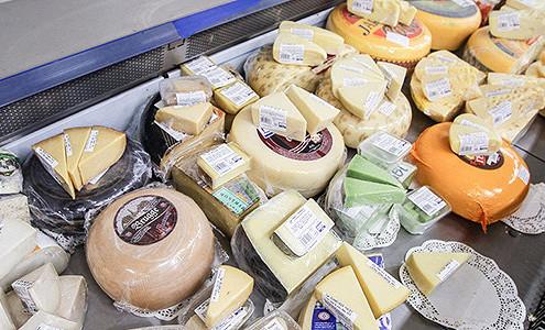 Европейский сыр нашел дорогу в Россию