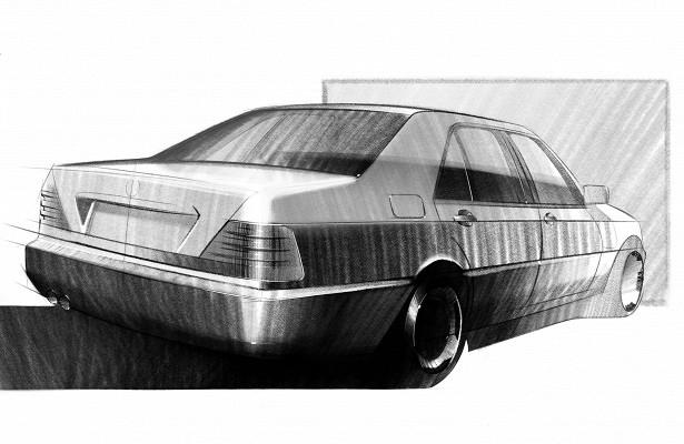 Российский дизайнер выбрал главные машины девяностых— инарисовал их