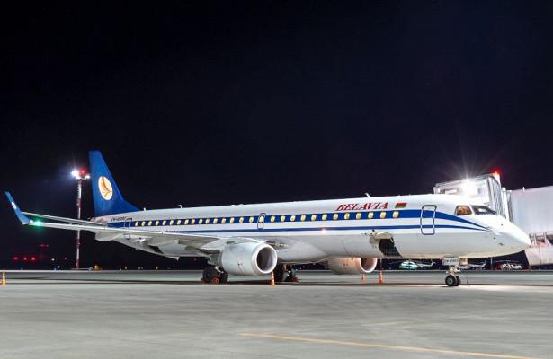 Вростовском аэропорту встретили первый рейс изМинска