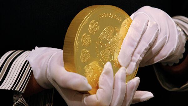 Россия сможет зарабатывать наэкспорте золотых монет