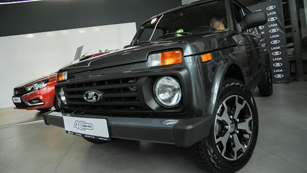 ВЕвропе упали продажи автомобилей Lada