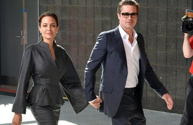Анджелина Джоли поссорилась сотцом из-замужа