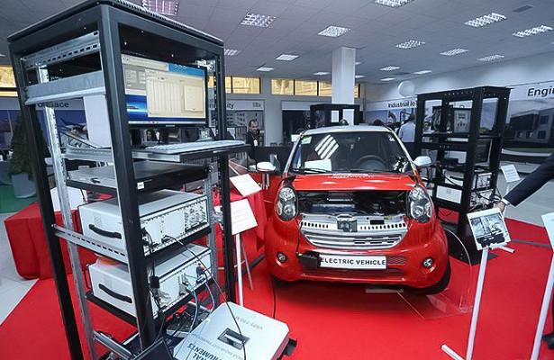 ВАрмении собрали первый электромобиль