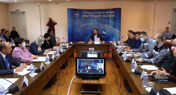 ВУсть-Куте депутаты парламента Приангарья провели семинар длясеверных территорий