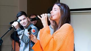 Кети Топурия иБайгали Серкебаев поддержали молодых музыкантов