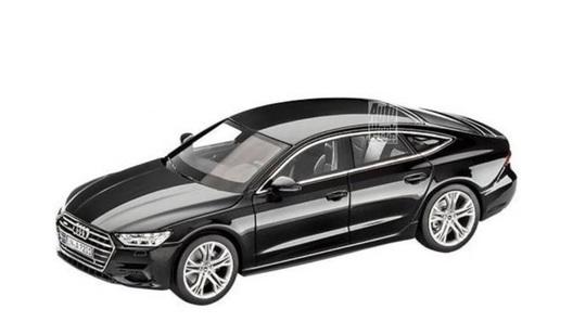 Audi представила новую A7вмасштабе 1:43