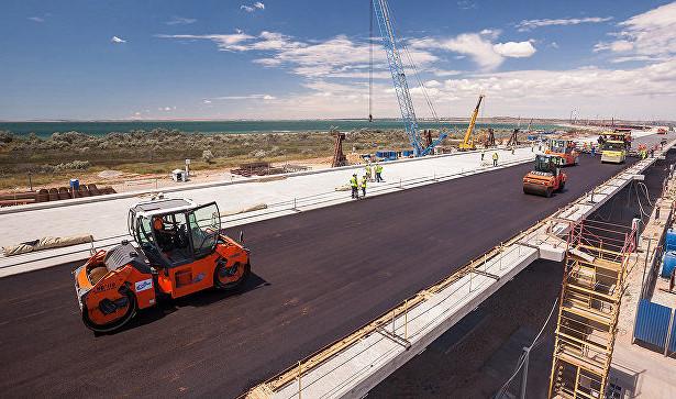 Строители Крымского моста рассказали о«ЧП»