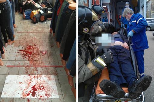 Тричеловека пострадали привзрыве гранаты вТЦвКоврове
