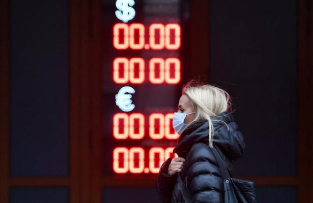 Доллар превысил отметку в75рублей впервые с3декабря