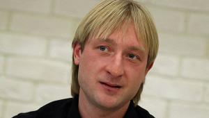 Плющенко показал видео счетырёхмесячным сыном