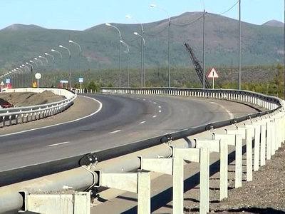 ВМагаданской области сдан новый современный мост через Колыму