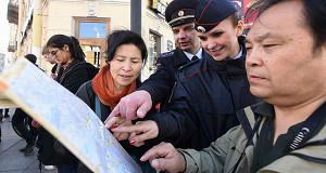 Количество интуристов в России снижается