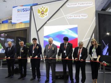 Намеждународной выставке «Vietnam Expo 2018» начала работу российская экспозиция