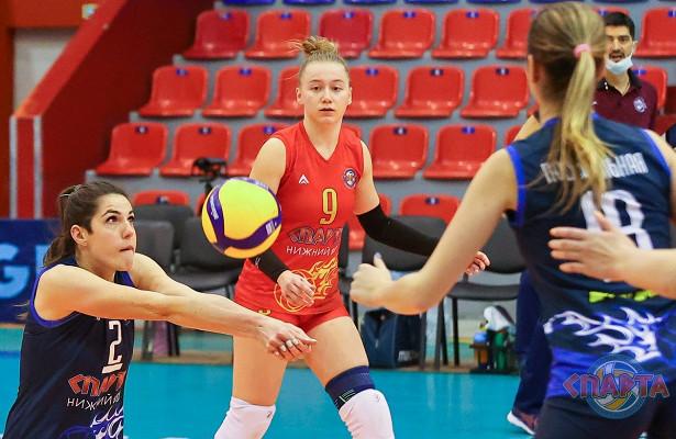 Нижегородские волейболисты провели игры против спортсменов изТатарстана