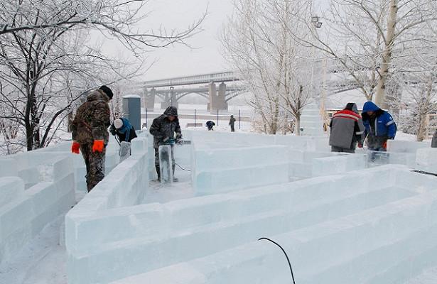 Названа тематика ледового городка-2021 наМихайловской набережной