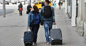 Туристы вылетают на выходные