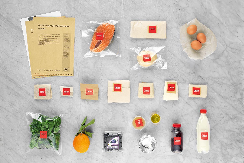 Все ингредиенты были свежайшими и красиво упакованы — но ни на одной непрозрачной упаковке не было написано, что находится внутри