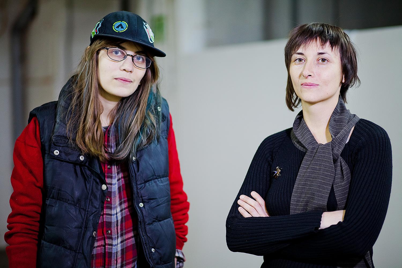 Надя Плунгян и Виктория Ломаско