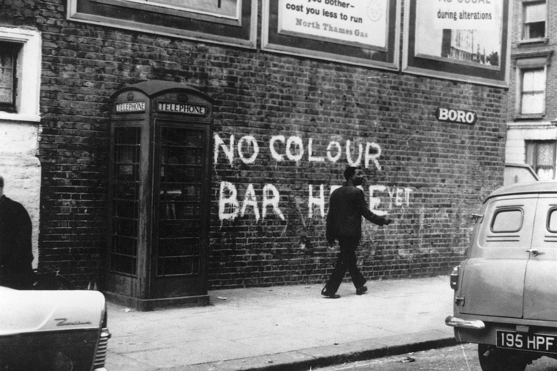 Ноттинг-Хилл в 1958 году. В то время там часто селились мигранты