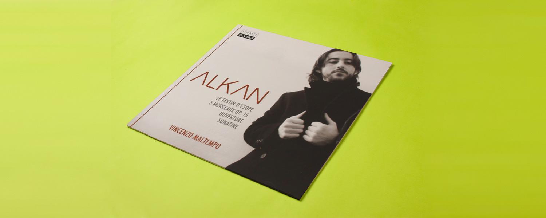 Vincenzo Maltempo «Alkan: Le Festin d'Esope; Trois Morceaux; Ouverture; Sonatine»