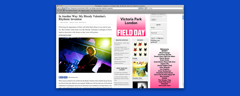 Почему у My Bloody Valentine ударные так же важны, как гитары