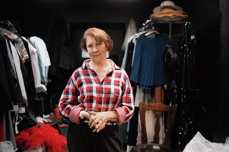 Лидия Ивановна Каретникова, старший гример театра «Сатирикон»