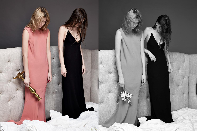 Платье Rochas, 21700 р., платье Vionnet, 29000 р.