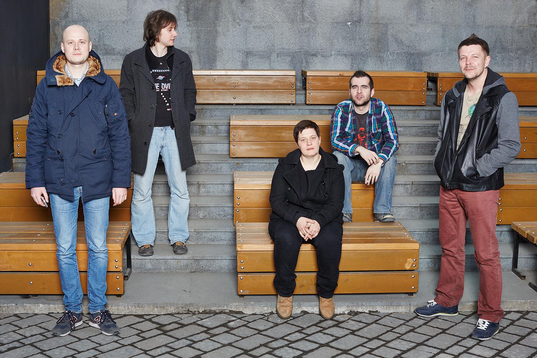 Слева направо: Иван Колпаков, Александр Поливанов, Светлана Рейтер, Игорь Белкин, Андрей Козенко