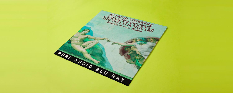Peter Phillips & Tallis Scholars «Allegri: Miserere; Palestrina: Missa Papae Marcelli»