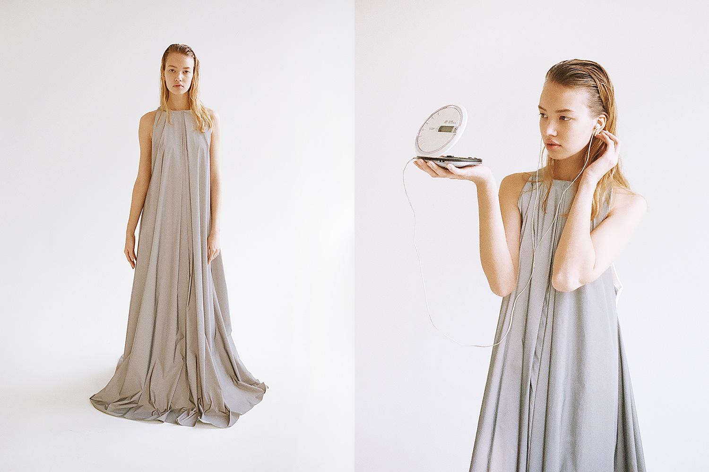 Платье из светоотражающей ткани Victoria Kolesnova, 20000 р.