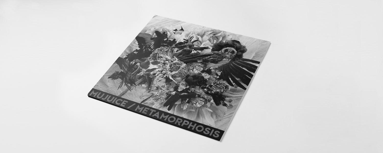 Обложка альбома «Metamorphosis», по оформлению перекликающаяся с картинками с выставки