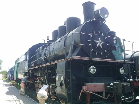 Фото музей железнодорожной техники под открытым небом