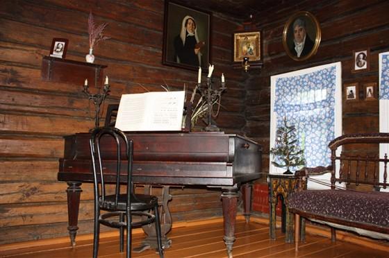 Фото музей Танеева в Дютьково
