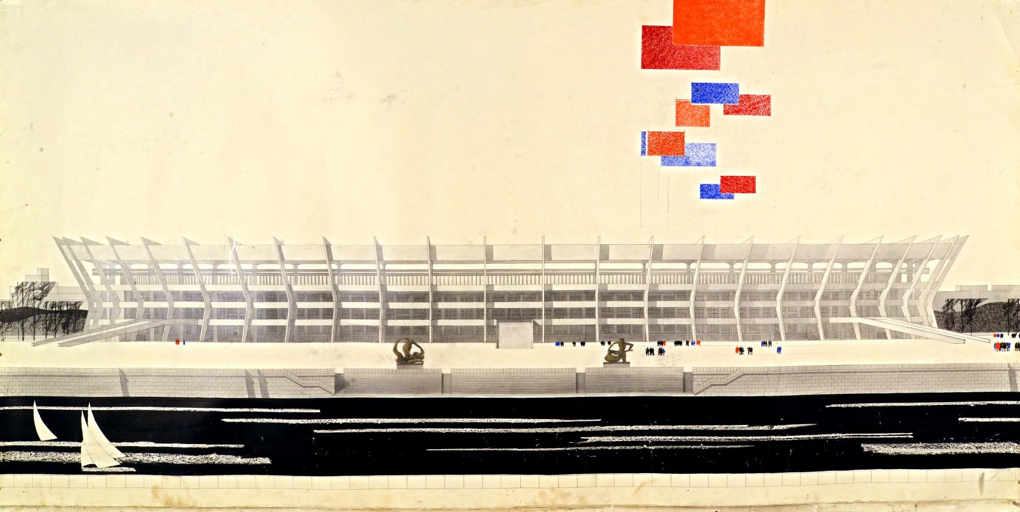 Архитектура стадионов. От авангарда к современности смотреть фото